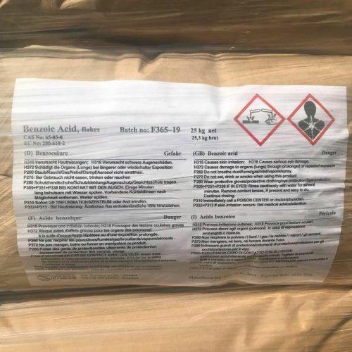 فروش بنزوئیک اسید