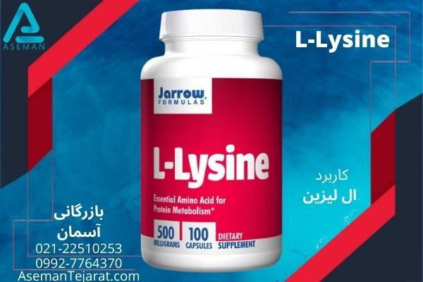 کاربرد های ال لیزین